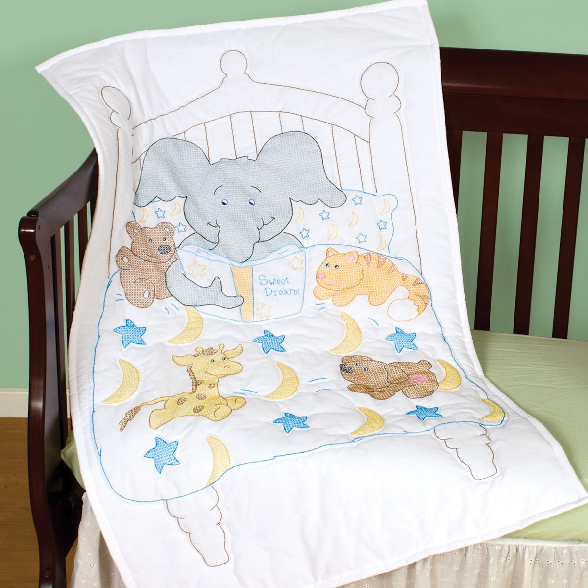 Bedtime Stories Crib Quilt Top