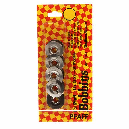 Metal Bobbins for Pfaff 5 ct