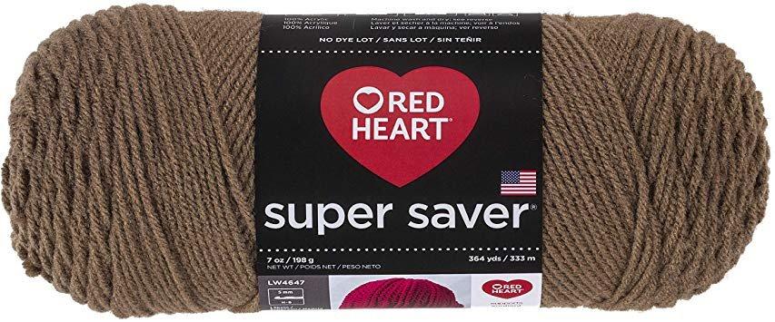 Red Heart Super Saver- Cafe Latte