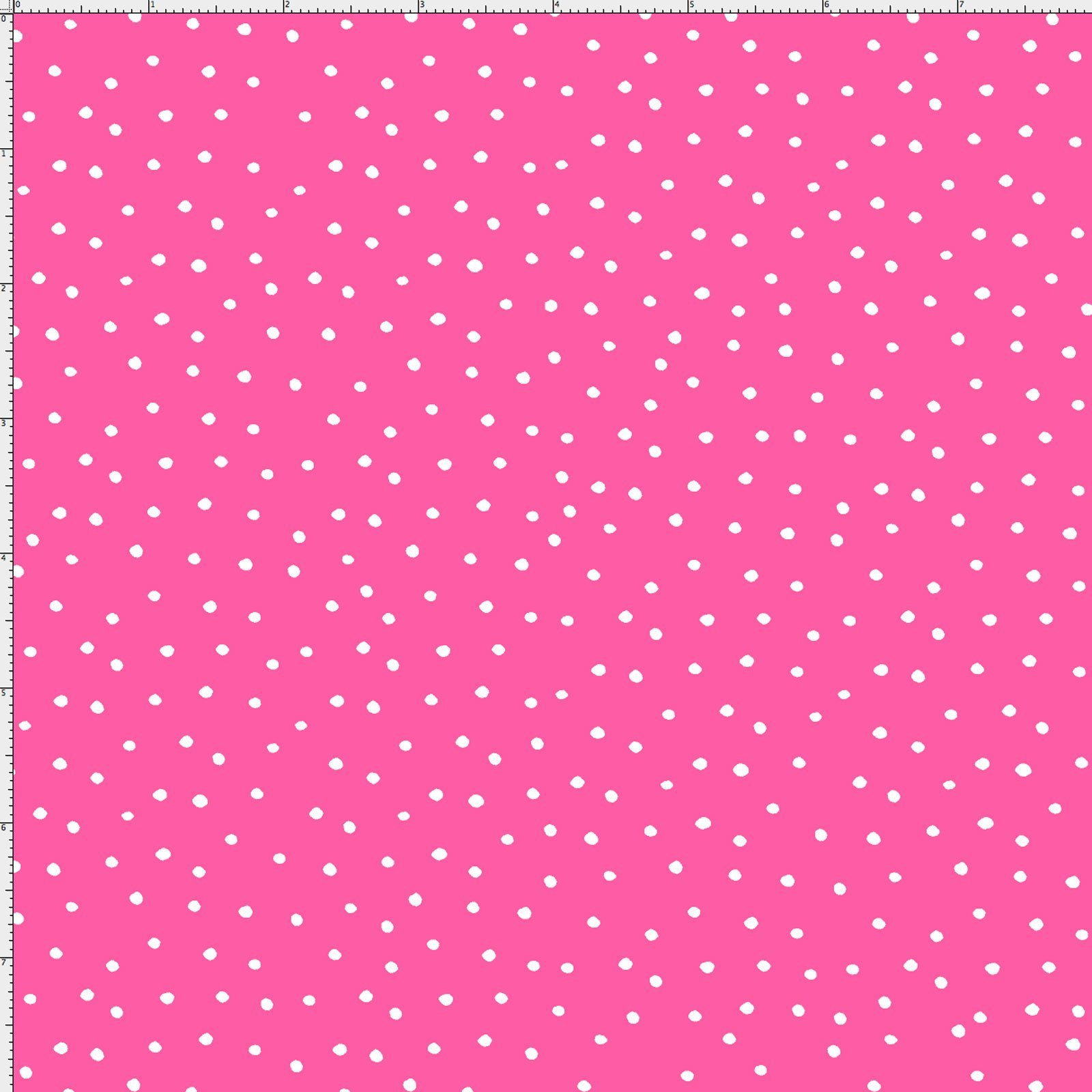 Loralie Dinky Dots Bright Pink