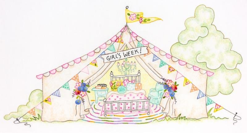 Girls' Getaway 3 - Girls Week Tent