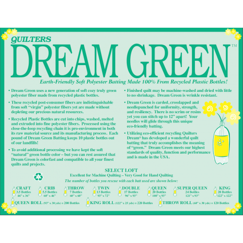 Quilters Dream Green- Throw 60X60