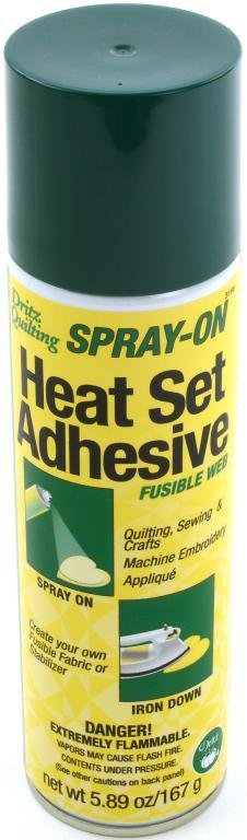 Heat Set Adhesive Fusible Web
