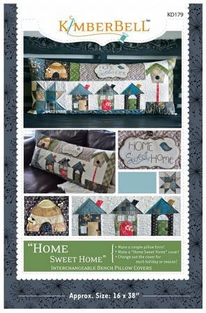 Home Sweet Home Bench Pillow Pattern