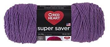 Red Heart Super Saver- Medium Purple 528