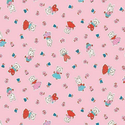milk, sugar & flower C4341 Pink
