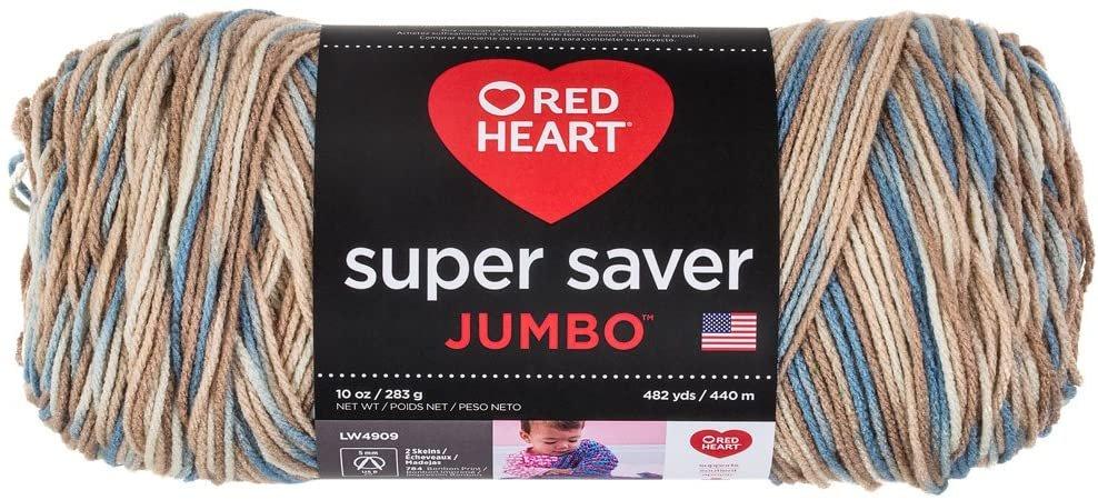 Red Heart Super Saver Jumbo- Mirage 10oz
