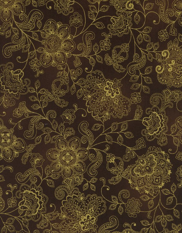 Pashmina CM1144- Black/ Metallic Gold