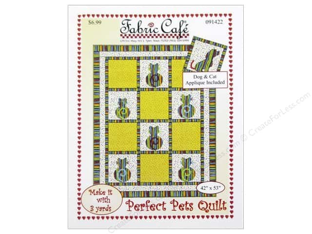 Fabric Cafe Perfect Pets Quilt