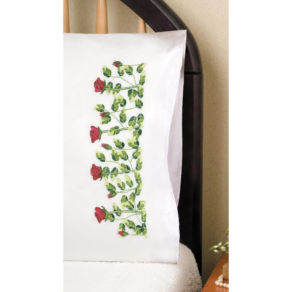 Pillowcase Rose Row