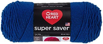 Red Heart Super Saver - Royal Blue