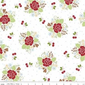 Sew Cherry 2-  Main White