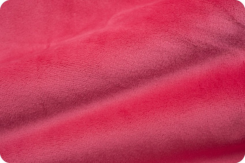 Shannon Fabrics Cuddle Solids- Shocking Pink