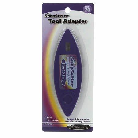 Snapsetter Adapter,size 20