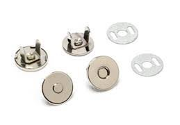 Magnetic Snap 14 mm - Black Nickel