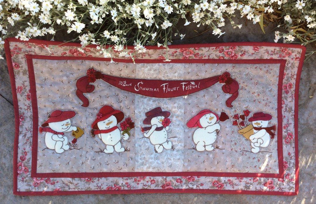 Snowmen Flower Festival - PATTERN