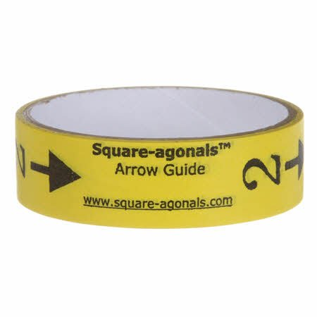 Square-Agonals Arrow Guide Tape 1in x 5yds
