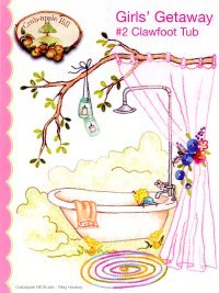 Girls' Getaway #2- Clawfoot Tub Pattern