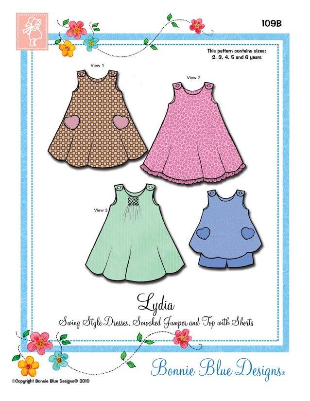 Bonnie Blue Designs Lydia 109B