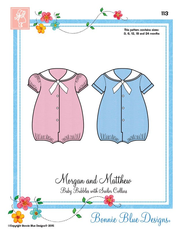 Bonnie Blue Designs Morgan and Matthew