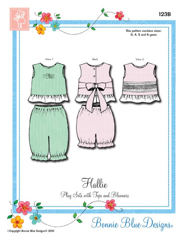 Bonnie Blue Designs Hallie 123B