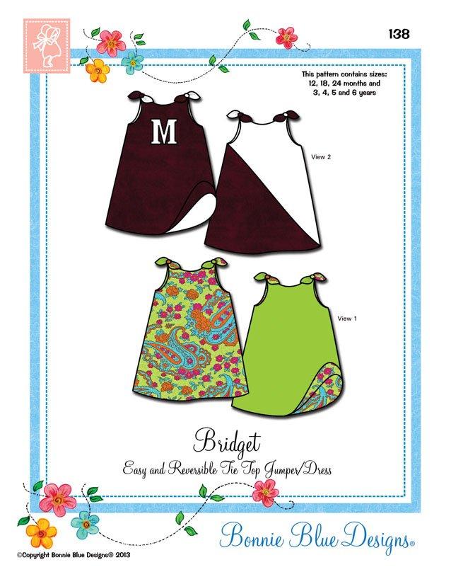 Bonnie Blue Designs Bridget #138