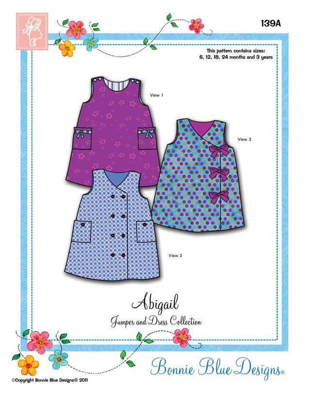 Bonnie Blue Designs Abigal #139B
