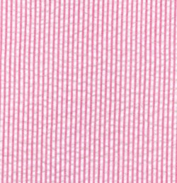 Fabric Finders Seersucker raspberry mini-stripe ,60wide  100% cotton