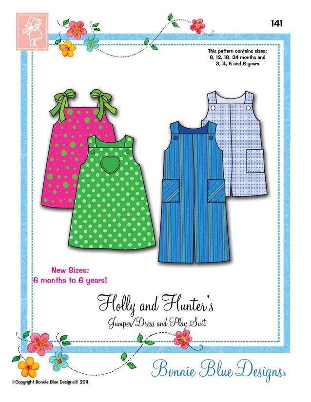Bonnie Blue Designs Holly & Hunter's 141