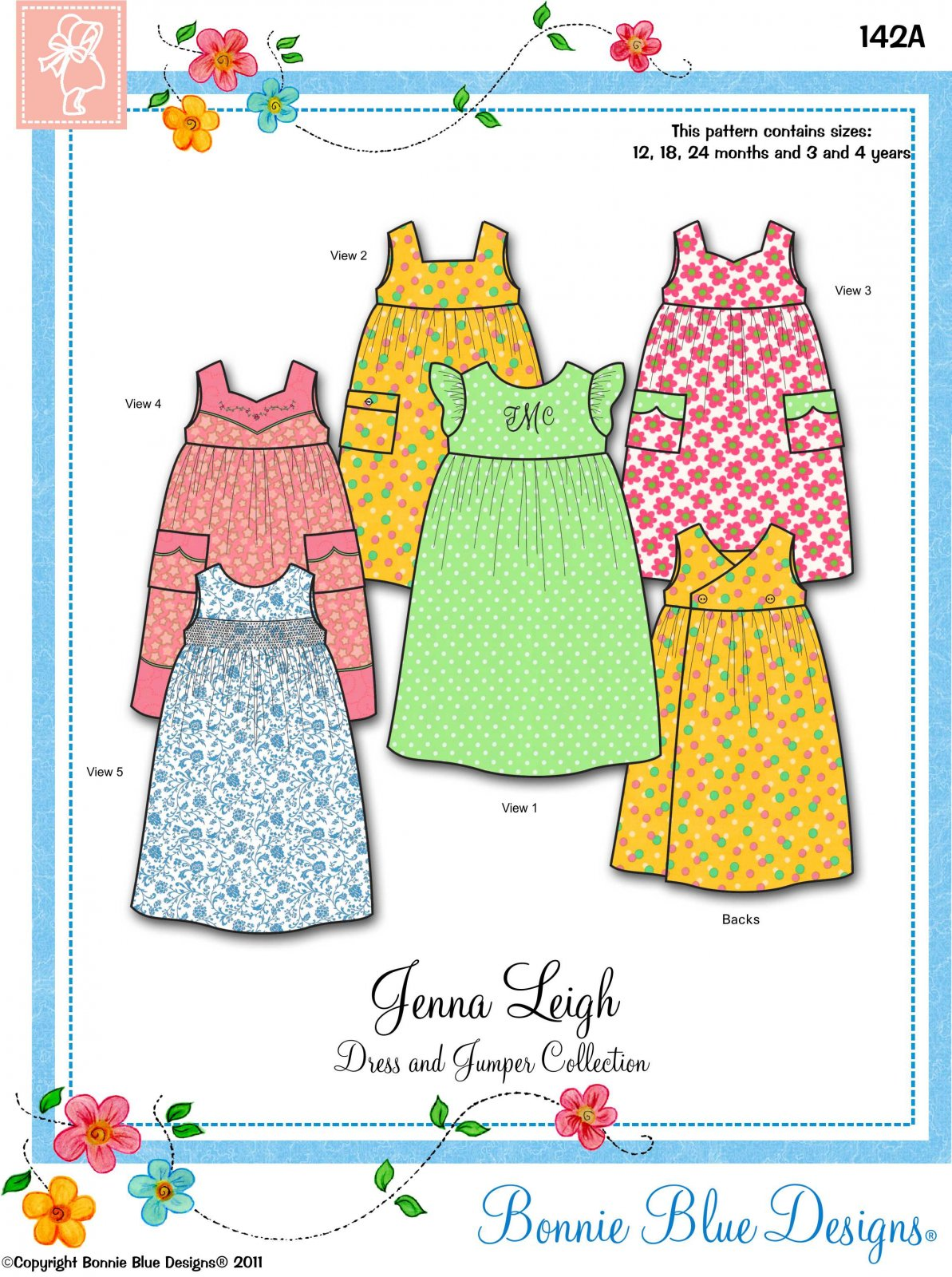 Bonnie Blue Designs Jenna Leigh 142A