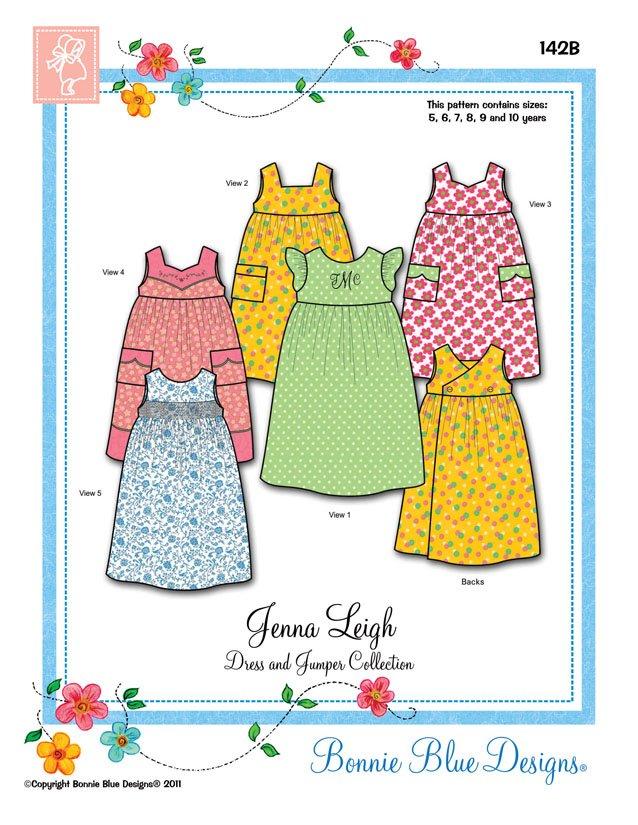 Bonnie Blue Designs Jenna Leigh 142B