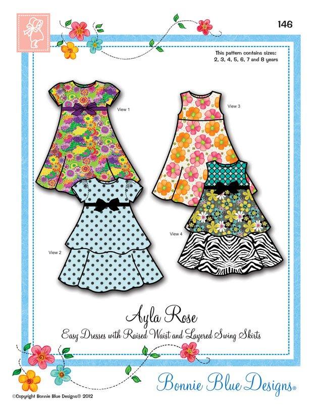 Bonnie Blue Designs Ayla Rose
