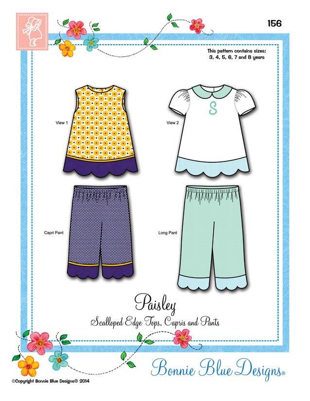 Bonnie Blue Designs Paisley #156
