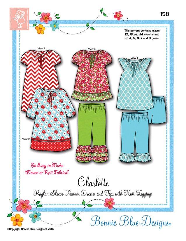 Bonnie Blue Designs Charlotte #158