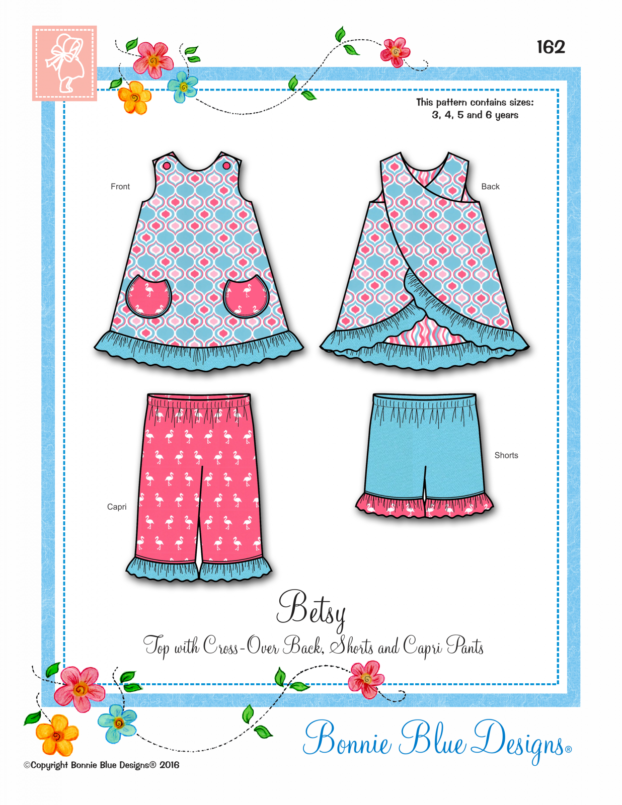Betsy, Bonnie Blue Designs,162