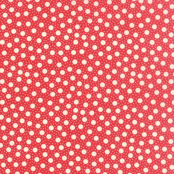 Q - Moda - Hometown Girl Prints - Cherry Dots