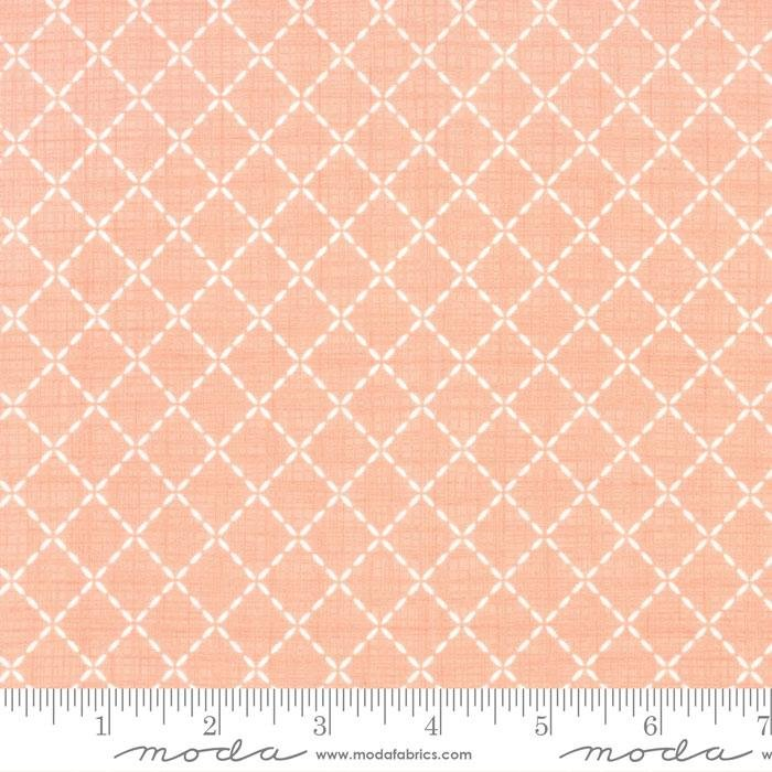 Q - Moda - Lullaby - Pink with Quilted White
