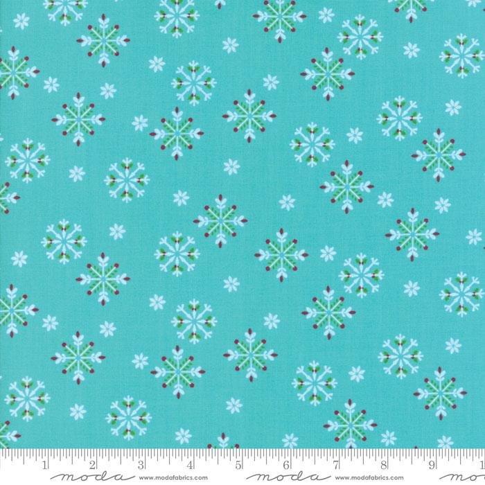 Q - Jingle Birds - Keiki - Blue Snowflakes