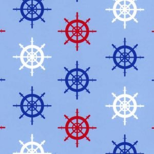 Fabric Finders 1913,nautical ship wheel