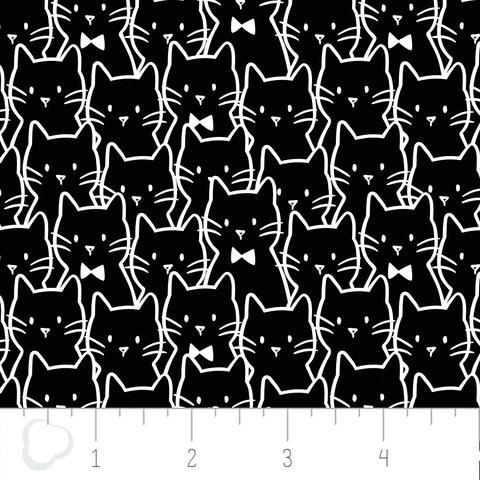 Camelot Fabrics - Meow Cat Cluster