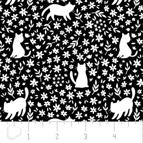 Camelot Fabrics - Meow Silhouette