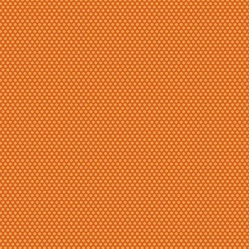 Q - Benartex - Bree Dot Orange
