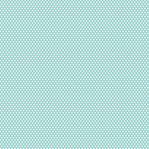 Q - Benartex - Bree Dot Aqua