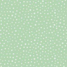 Q - Camelot Fabric - Mixology - Green with Dots