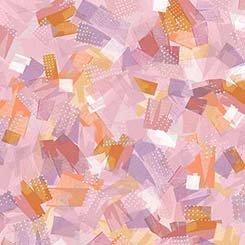 Q - Quilting Treasures - Confetti Blossoms - Light Pink