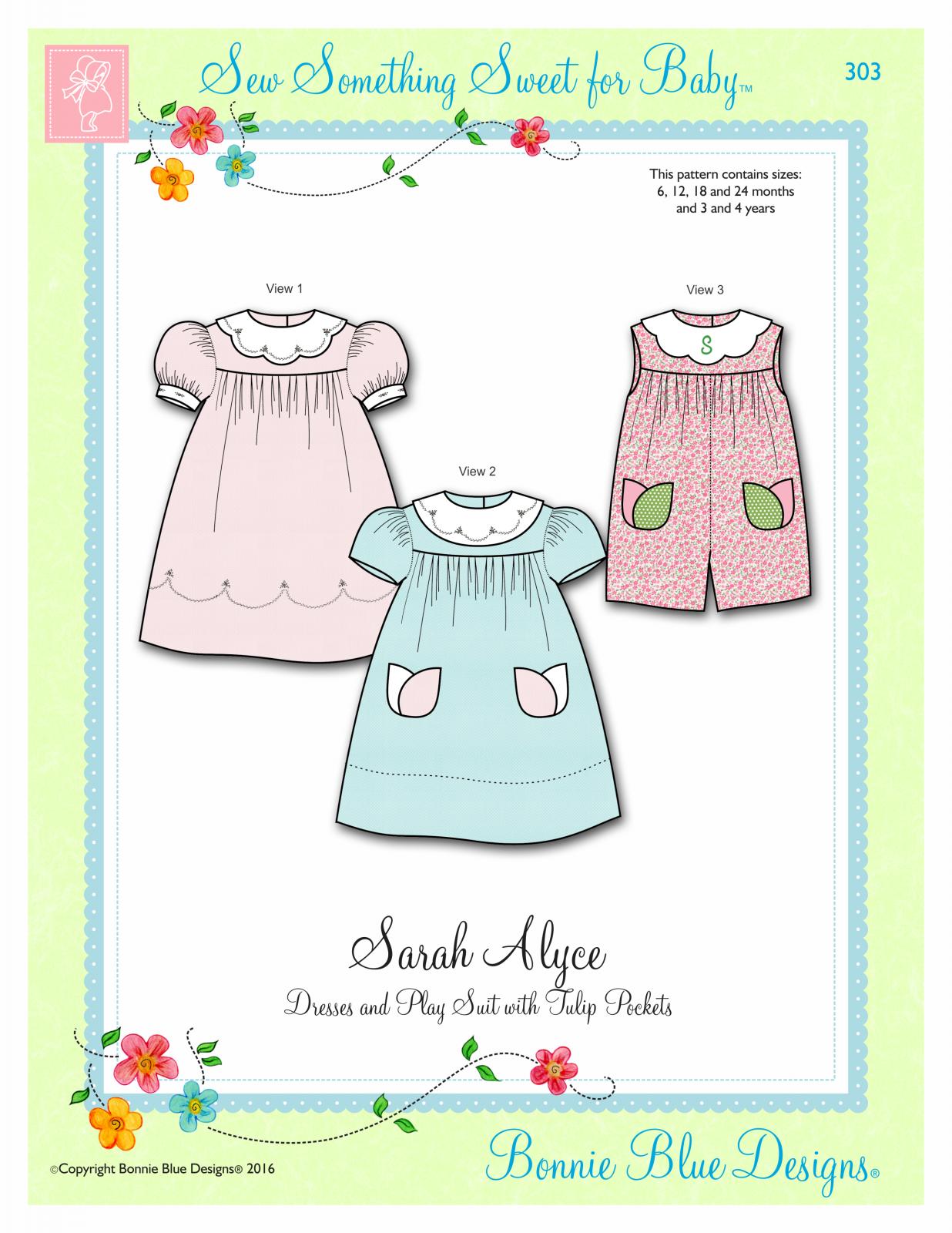 Bonnie Blue Designs  Sarah Alyce 303