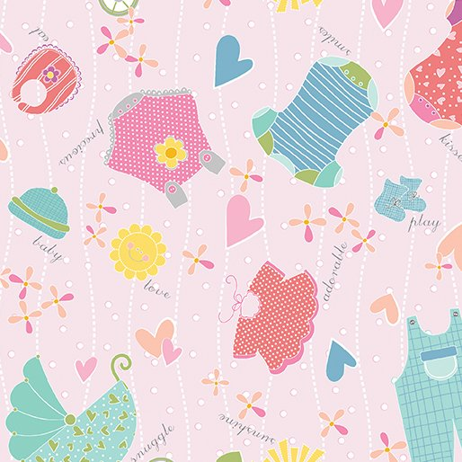 Q - My Little Sunshine - Pink with Clothes