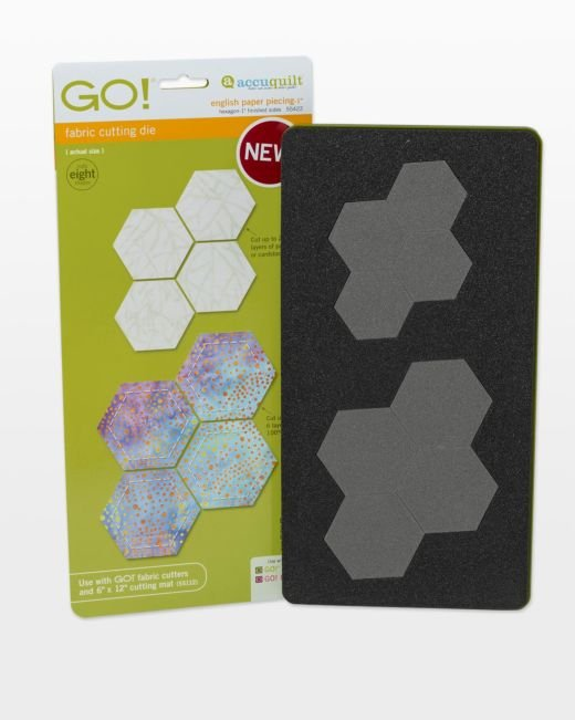 GO! English Paper Piecing Hexagon - 1 Finished Sides