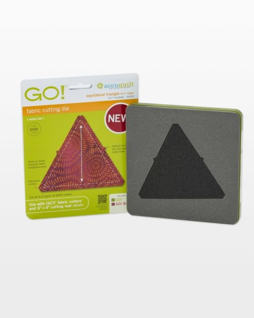 GO! Equilateral Triangle - 4 1/2 Sides (4 1/4 Finished)