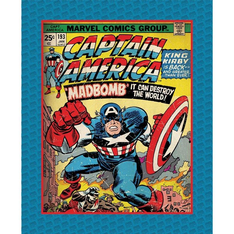 Q - Camelot Fabric - Marvel Comics III - Panel